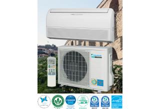 Най-ниска цена в Бургас за климатик DAIKIN FLEXI COMFORT  FLXS25B + RXS25K (9,000 BTU / ч, охлаждане / отопление, Инвертор, под/таван)